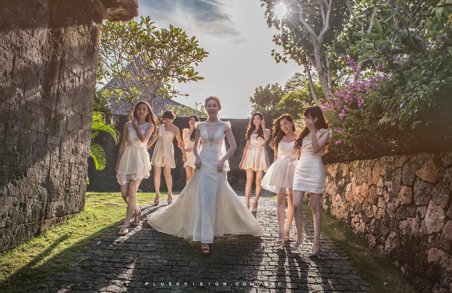 峇里島水上婚禮